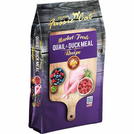 Fussie Cat Market Fresh Quail & Duck Meal Recipe Grain-Free Dry Cat Food