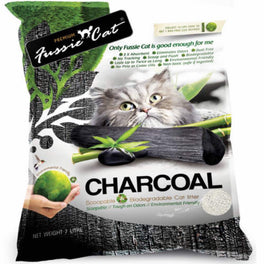 Fussie Cat Natural Charcoal Paper Cat Litter 7L