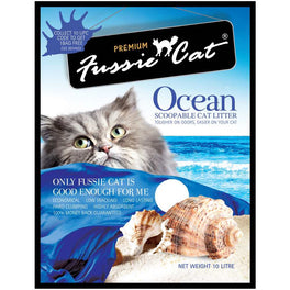 Fussie Cat Ocean Scoopable Cat Litter 10L
