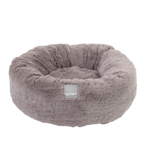 FuzzYard Reversible Dog Bed - Eskimo Grey - Kohepets
