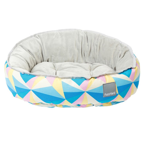FuzzYard Reversible Dog Bed - South Beach