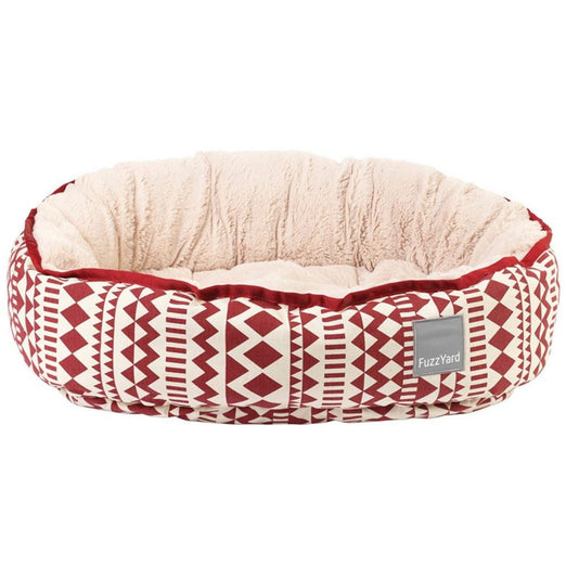 FuzzYard Reversible Dog Bed - Tabasco - Kohepets