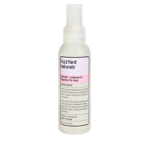 FuzzYard Calming Lavender and Cedarwood Aromatherapy Mist for Dogs 120ml