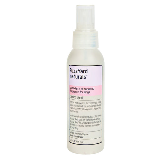 FuzzYard Calming Lavender and Cedarwood Aromatherapy Mist for Dogs 120ml - Kohepets