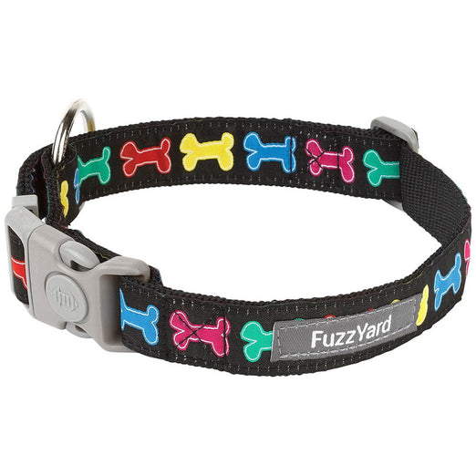 FuzzYard Jelly Bones Dog Collar