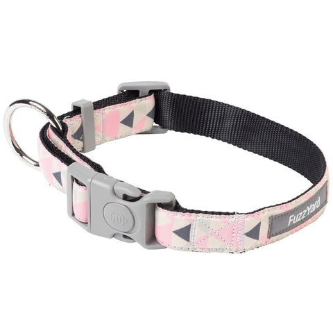 FuzzYard Pink Rock Dog Collar (discontinued) - Kohepets