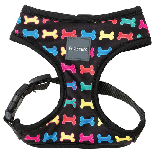 FuzzYard Jelly Bones Dog Harness (discontinued) - Kohepets