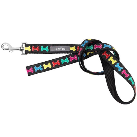 FuzzYard Jelly Bones Dog Lead (Large) (discontinued) - Kohepets