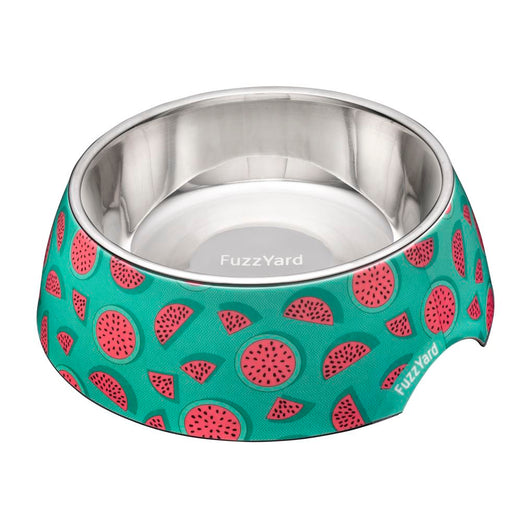 15% OFF: FuzzYard Easy Feeder Pet Bowl (Summer Punch) - Kohepets