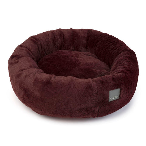 FuzzYard Eskimo Dog Bed (Merlot)