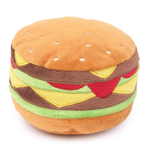 Fuzzyard Hamburger Plush Toy - Kohepets