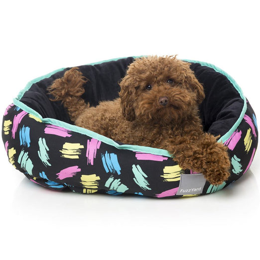 FuzzYard Reversible Dog Bed - Chalkboard (discontinued) - Kohepets
