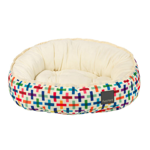 FuzzYard Reversible Dog Bed (Jenga)