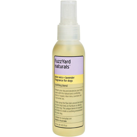 FuzzYard Soothing Aloe Vera and Lavender Aromatherapy Mist for Dogs 120ml - Kohepets