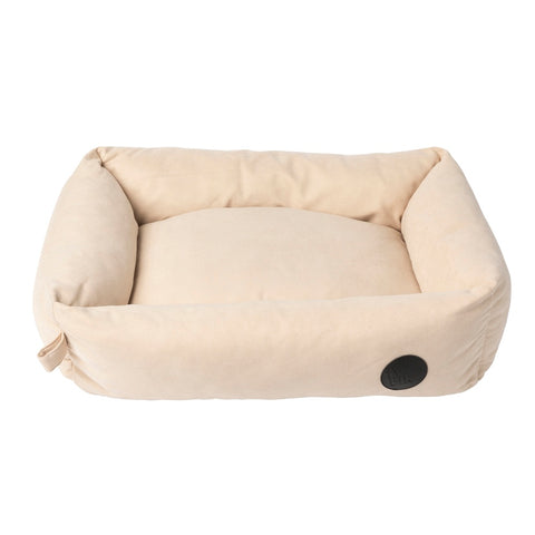 FuzzYard The Lounge Dog Bed (Almond Cream) - Kohepets
