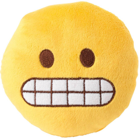 FuzzYard Emoji Eek Plush Dog Toy (discontinued) - Kohepets