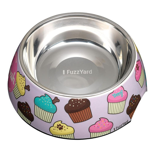 FuzzYard Easy Feeder Pet Bowl - Fresh Cupcakes (discontinued) - Kohepets