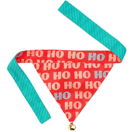 Fuzzyard X'mas HOHO Pet Bandana With Bell