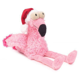 Fuzzyard X'mas Flo The Flamingo Plush Dog Toy