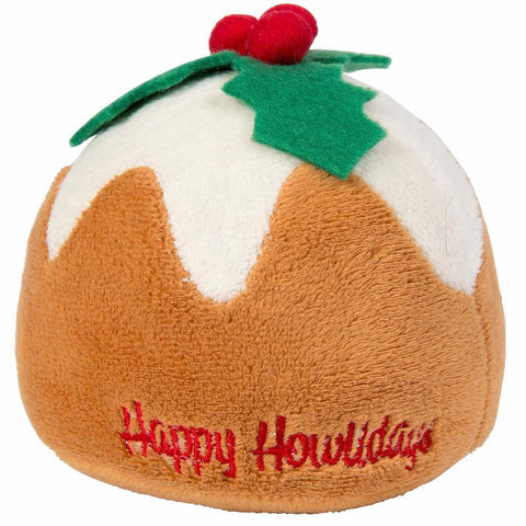 Fuzzyard X'mas Pudding Plush Dog Toy