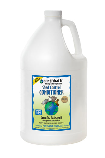Earthbath Green Tea & Awapuhi Shed Control Conditioner 1 Gal