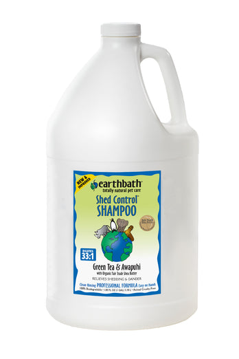 Earthbath Green Tea & Awapuhi Shed Control Shampoo 1 Gal
