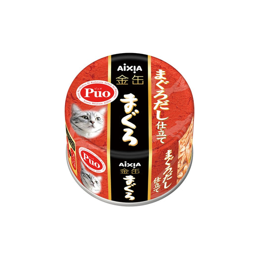 Aixia Kin-Can Dashi Tuna with Tuna Stock Canned Cat Food 80g