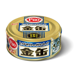 Aixia Kin-Can Mini Tuna with Dried Skipjack Canned Cat Food 70g