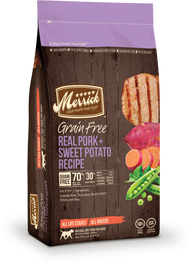 Merrick Grain Free Real Pork & Sweet Potato Dry Dog Food