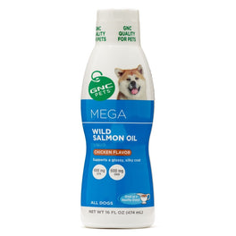 GNC Pets Ultra Mega Wild Salmon Oil Chicken-Flavour Dog Supplement 237ml