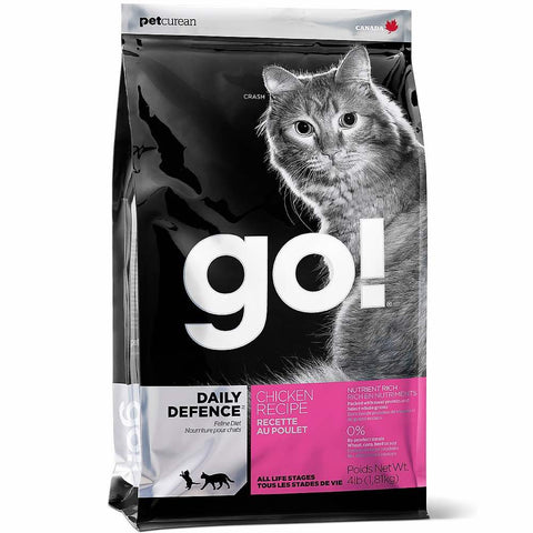 GO! Daily Defence Chicken Recipe Dry Cat Food - Kohepets