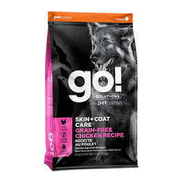 GO! Skin + Coat Grain Free Chicken Recipe Dry Dog Food 3.5lb