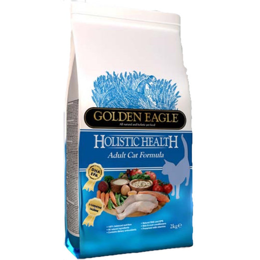 Golden Eagle Holistic Health Adult Chicken & Salmon Dry Cat Food