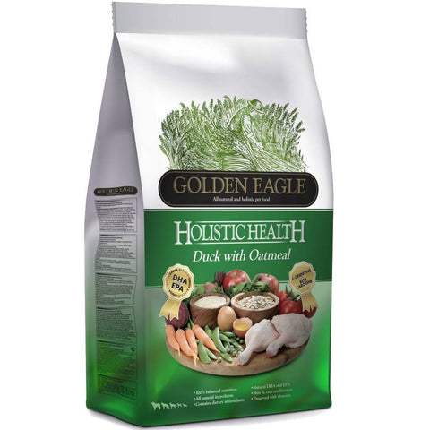 Golden Eagle Holistic Health Duck With Oatmeal Dry Dog Food - Kohepets