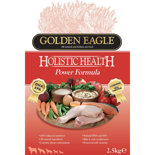 Golden Eagle Holistic Health Power Formula Dry Dog Food 15kg