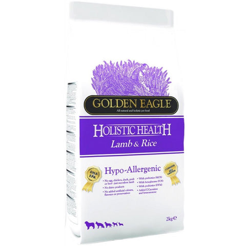 Golden Eagle Holistic Health Hypo-Allergenic Lamb & Rice Dry Dog Food - Kohepets