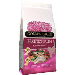 Golden Eagle Holistic Health Kitten Chicken & Salmon Dry Cat Food