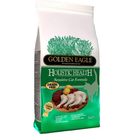 Golden Eagle Holistic Health Sensitive Grain Free Dry Cat Food 2kg