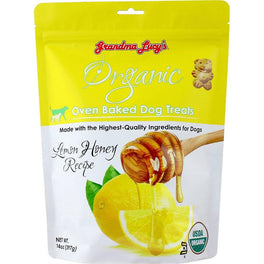25% OFF: Grandma Lucy's Lemon Honey Oven Baked Dog Treats 14oz