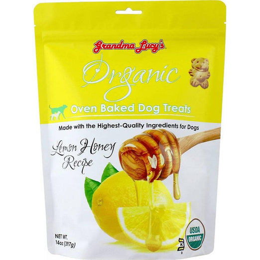 Grandma Lucy's Lemon Honey Oven Baked Dog Treats 14oz
