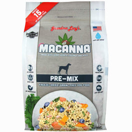 2 FOR $99: Grandma Lucy's Macanna Pre-Mix Freeze-Dried Grain-Free Dog Food 3lb