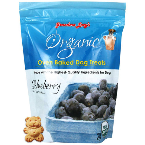 Grandma Lucy's Organic Blueberry Oven Baked Dog Treats 14oz