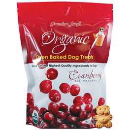 $11.11 ONLY: Grandma Lucy's Organic Cranberry Oven Baked Dog Treats 14oz (11.11 SALE)