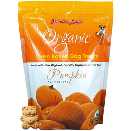 $11.11 ONLY: Grandma Lucy's Organic Pumpkin Oven Baked Dog Treats 14oz (11.11 SALE)
