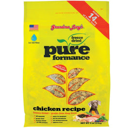 25% OFF: Grandma Lucy's Pureformance Chicken Freeze-Dried Grain-Free Dog Food