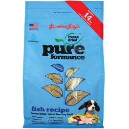 25% OFF: Grandma Lucy's Pureformance Fish Freeze-Dried Grain-Free Dog Food 3lb
