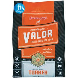 2 FOR $99: Grandma Lucy's Valor Turkey Freeze-Dried Grain-Free Dog Food 3lb