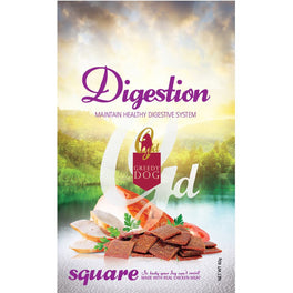 3 FOR $9: Greedy Dog Digestion Square Dog Treat 80g (Exp 16 Jun 19)