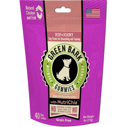 Green Bark Gummies Hip & Joint With Chicken & Fish Dog Treat 113g
