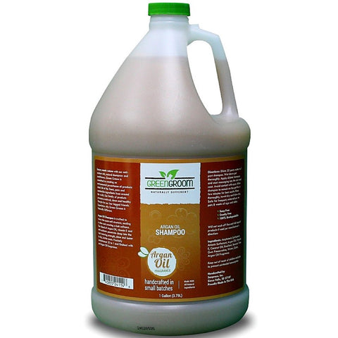 Green Groom Argan Oil Aromatherapy Shampoo 1 Gallon - Kohepets